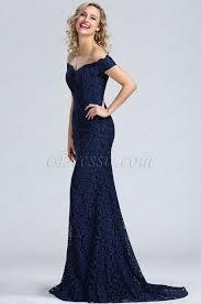 robe de soir e mari e usd 179 99 edressit blue shoulder lace prom dress 00171905
