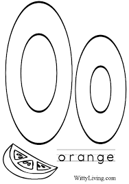 letter o coloring pages getcoloringpages com