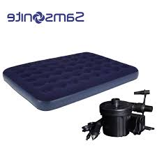 samsonite full size indooroutdoor flocked air mattress with air