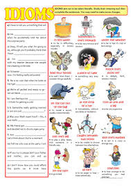 323 free esl idioms worksheets