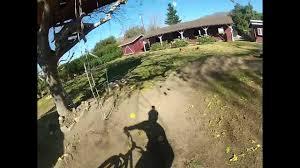 my back yard pump track youtube