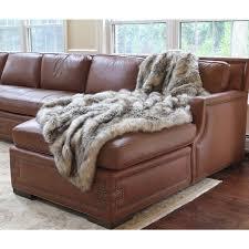fur throws for sofas wild mannered luxury long hair faux fur lap throw free shipping