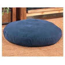 Round Waterbed For Sale by Kimlor Dog Bed Round Canvas Navy 50 Inch Bedplanet Com