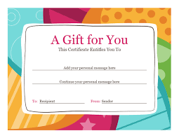free downloadable certificate templates in word custom gift