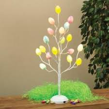 easter egg tree decorations new 24 battery operated multicolored easter egg tree decoration
