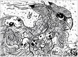 doodle valentin hibou doodling doodle art coloring pages for