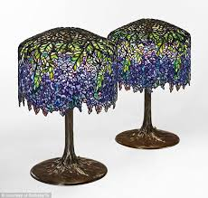 tiffany lights for sale two tiffany wisteria ls sell for over 1m each daily mail online