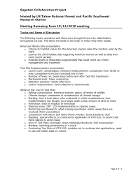 10 14 2010 stakeholder meeting summary