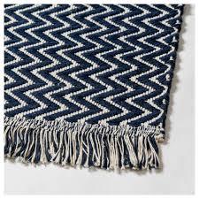 fasterholt rug flatwoven handmade dark blue 170x240 cm ikea