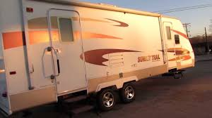 Sunset Trail Rv Floor Plans Very Nice 29 U0027 2007 Crossroads Sunset Trail 26rk Only 5366lbs
