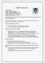 Mis Resume Samples by Resume Format For Mis Executive Resume Format