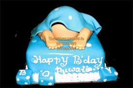 baby bottom baby shower cake online cake delivery noida cake shop