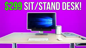 affordable sit stand desk most affordable standing desk smartdesk 2 youtube