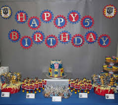 transformers party transformer party dessert table idea transformers
