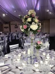 70cm Vase 70cm Vase With Dome Of Flowers Hire Sara Scott Florist
