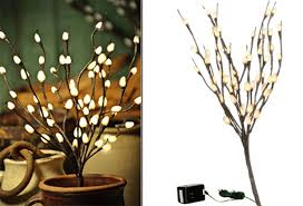 lighted willow branches lighted branches willow branch antique farmhouse