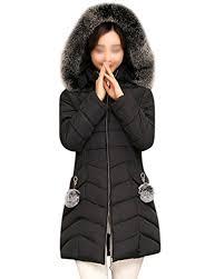 plus size light jacket plus size womens puffa faux fur hooded détachable padded ladies