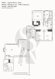 Livia Condo Floor Plan by Siena Irvine U0026 Newport Beach Real Estate