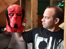 Hellboy Halloween Costume Halloween Christmas Santa Cruz Mask Maker Santa Cruz