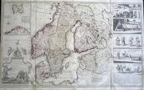 moll a new map of denmark and sweden in scandinavia