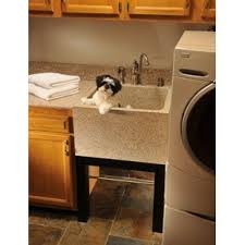 Laundry Room Sinks With Cabinet Laundry Utility Sinks You Ll Wayfair