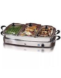 Oster Buffet Warmer by Electra Mfg Stainless Steel Buffet Server U0026 Warming Tray Small
