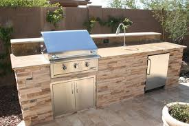 Backyard Bbq Setup Outdoor Kitchens And Custom Barbecues Outdoor Living Phoenix