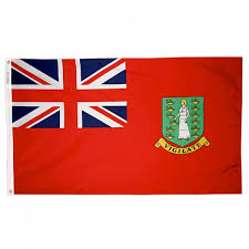 Flag Of The Bahamas 4 X 6ft British Virgin Island Flag Red