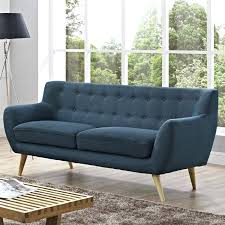 mid century sofa tufted 3d model max inncdesign red genova