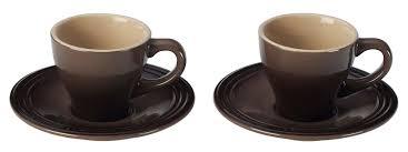 le creuset espresso cup set