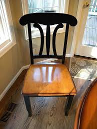 ideas for kitchen tables kitchen table and chair makeover with stain and paint hometalk