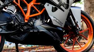 ds design ktm rc 200 brushed gray wrap by ds design