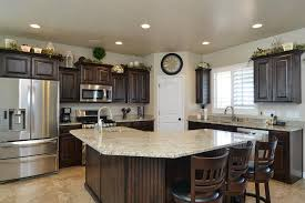 corner kitchen cabinet island home castle creek homes utah s premier home builder