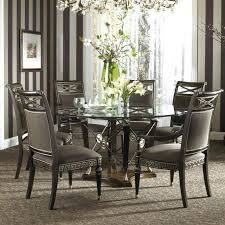 glass living room table sets chairs for round dining table white circle table and chairs round