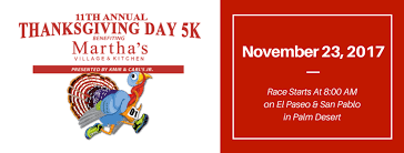 martha s thanksgiving day 5k run walk home