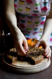 vegan pumpkin spice chocolate chip cookie cake the vegan 8