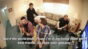 living room song the wonder years band live tumblr