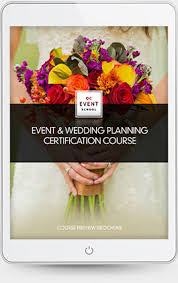certified wedding planner event wedding planning course qc event school