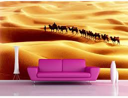 aliexpress com buy shinehome silk road camel desert oasis view aliexpress com buy shinehome silk road camel desert oasis view sand 3d mural wallpaper wall covering theme papel de parede bedroom livingroom decor from