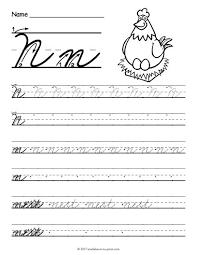 the 25 best cursive n ideas on pinterest cursive letters