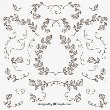isolated ornaments freepik flourish pin 5 flourish