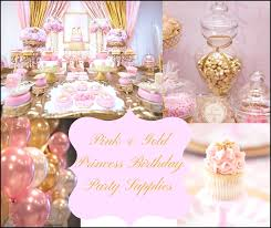 pink and gold party supplies gold party decorations awesome pink gold princess birthday party
