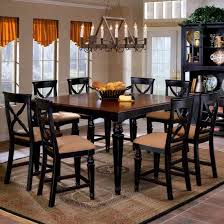 black dining room table set black dining room chairs
