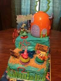bb cakes spongebob squarepants cake food pinterest