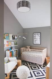 Rug For Baby Nursery Attic Baby Room With Grey Wall Color And Modern Rug Choosing