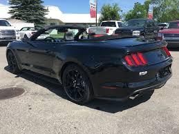 New Mustang Black New 2017 Ford Mustang Gt Premium Convertible 2 Door Car In Calgary