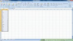 Spreadsheet Pictures How To Dedupe Records In A Spreadsheet 5 Steps With Pictures