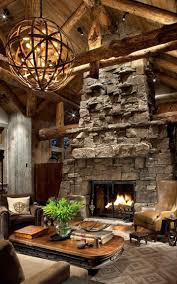 14 stone fireplace designs for your living room