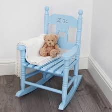 Infant Toddler Rocking Chair Personalised Child U0027s Rocking Chair By My 1st Years