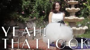 diy poofy tutu dress tutorial youtube